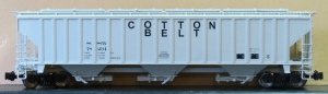 SSW COTTON BELT AML COVERED HOPPERs
