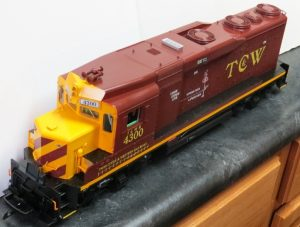 T C & W FINISHED GP30 4300 375 TOP FRONTs