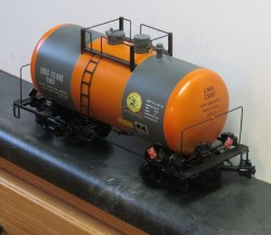 LONG ISLAND 29 FT TANK CAR ENDa